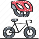 activities, bike, cycling, hobbies, pastime icon