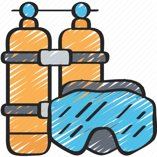 activities, diving, hobbies, pastime, swimming icon