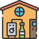 activities, alcohol, brewing, hobbies, home, pastime icon