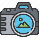 activities, camera, hobbies, pastime, photography icon