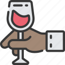 activities, alcohol, hobbies, pastime, tasting, wine icon