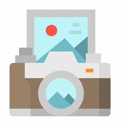 camera, photo, photograph, tourist, travel icon
