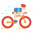 bicycle, bike, cycling, sports, transportation icon