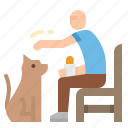 dog, park, relaxing, walk, walking