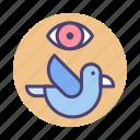 bird, bird park, birdwatching icon