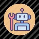 bot, building robot, robot, robotics