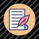 creative, creative writing, editor, writer, writing icon