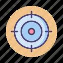 aim, hunting, target, targeting icon
