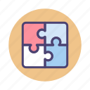 jigsaw, jigsaw puzzles, puzzle, puzzles, solution icon