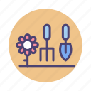 gardening, landscape, landscape gardening, landscaping icon