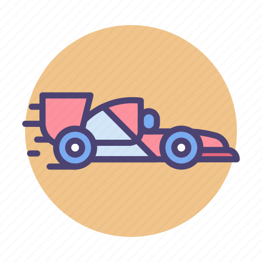 f1, race, racing icon