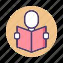 bookworm, read, reader, readership, reading