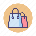 recycle bag, shopping, shopping bag icon