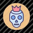 metal, death, hard rock, skull, tattoo
