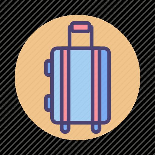 baggage, luggage, suitcase, traveling icon
