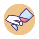 tasting, wine, wine glass, wine tasting icon
