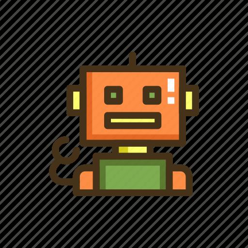 machine, robot, robotic, robotic engineering icon