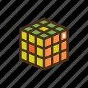 cubing, rubik's cube, rubiks cube icon