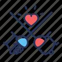 fencing, fighting, sport, swords