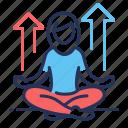 meditation, position, relaxing, yoga