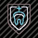guard, hockey, protection, teeth icon