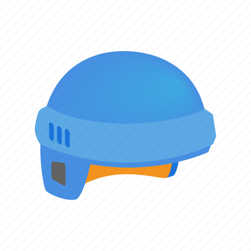 equipment, helmet, hockey, ice, isometric, protection, sport icon