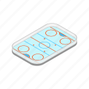 isometric, winter, ice, hockey, rink, cold, line