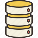 database, documents, file, files, storage icon