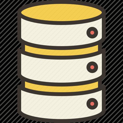database, documents, file, files, storage icon