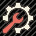 maintenance, control, repair, settings, tool, wrench