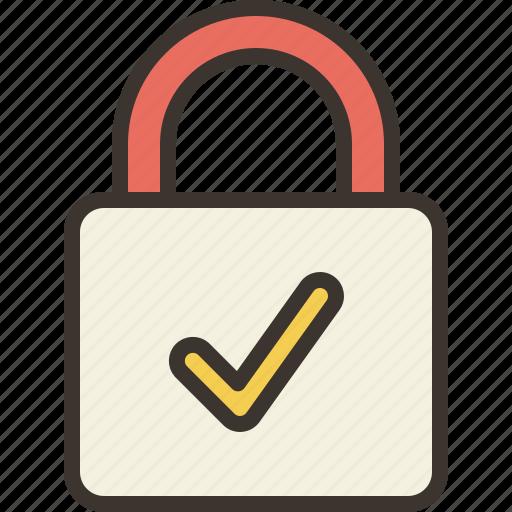 locked, padlock, privacy, security, unlock icon
