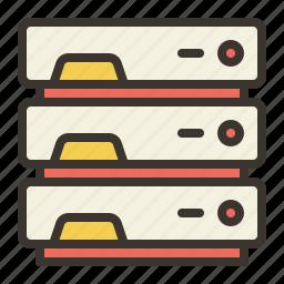 communication, connection, internet, servers icon