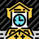 clocktower, hokkaido, japan, landmark, sapporo, travel