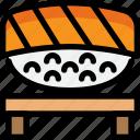 culture, food, hokkaido, japanese, sushi icon