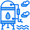 agriculture, deposit, pipe, reservoir, water icon