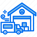 car, delivery, logistic, office, shipping, truck icon