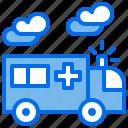 ambulance, car, emergency, hospital, medical icon