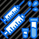 bottle, drug, hospital, injection, medical icon