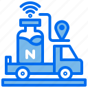 agriculture, car, location, route, transport, water, wifi icon