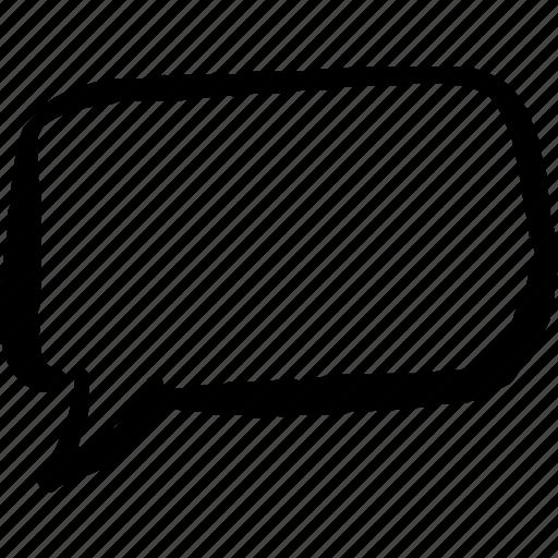 cartoon chat communicate hand drawn rounded speech bubble talk rh iconfinder com cartoon talk bubble vector cartoon speech bubble generator