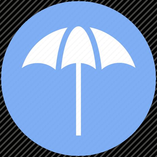 beach, beach umbrella, holiday, summer, sun umbrella, weather icon