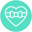 gift, heart, holiday, love, present, romance, valentine icon
