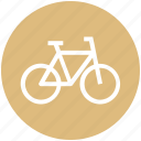 bicycle, bike, cycle, cycling, fitness, travel icon
