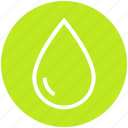 drop, fuel, oil, rain, rainy, water, water drop icon