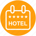 board, five stars, frame, holiday, hotel, rating, sign icon
