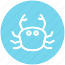 cooking, crab, lobster, omar, restaurant, sea food, seafood icon