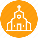building, chapel, christians building, church, easter, holiday, religion icon