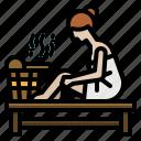 relax, relaxin, sauna, spa, wellness