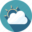 cloud, holiday, tourist, travel, weather icon