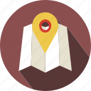 holiday, location, map, tourist, travel icon
